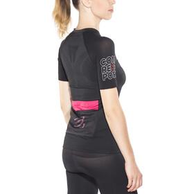 Compressport Trail Running Postural T-shirt Femme, black